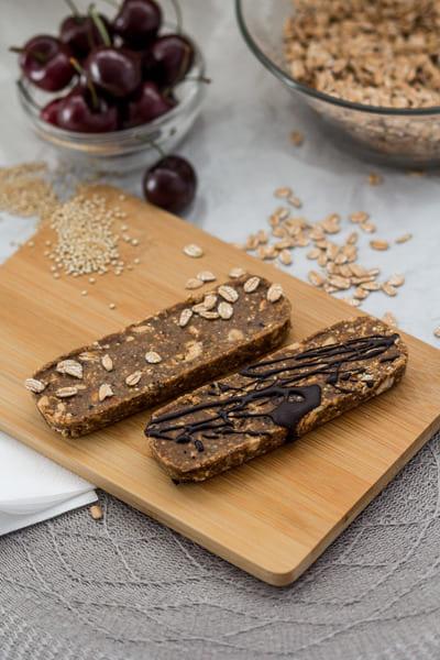 Süßigkeitenersatz Mandel Kirsche Schoko Proteinriegel Kosten