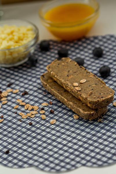 Süßigkeitenersatz Blaubeere Butter Proteinriegel Kosten