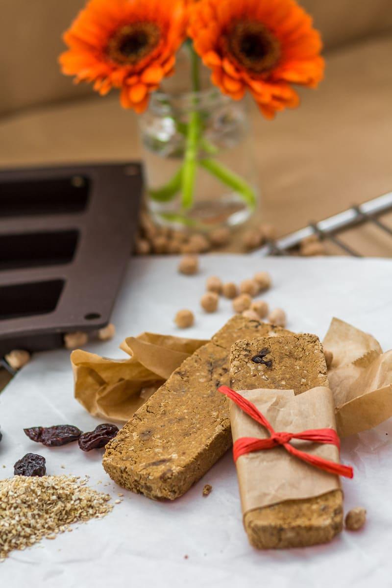 Diät Proteinriegel Kichererbse vegan