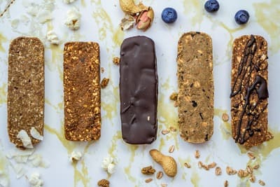 Vegan SüßigkeitenersatzProteinriegel selber machen Dankbars
