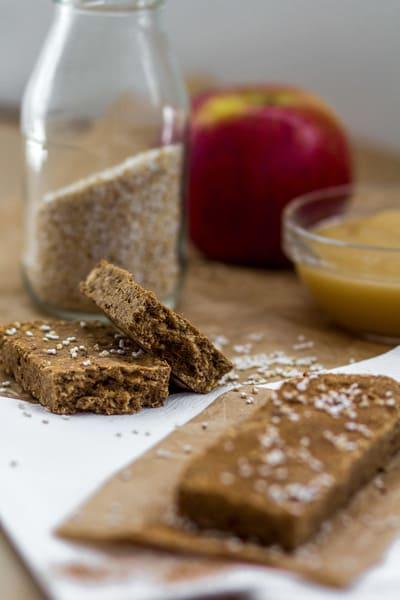 High Carb Low Fat Apfel Zimt Proteinriegel Kosten