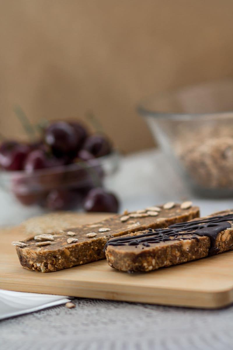 Vegan Süßigkeitenersatz Mandel Kirsche Schoko Zubereitung