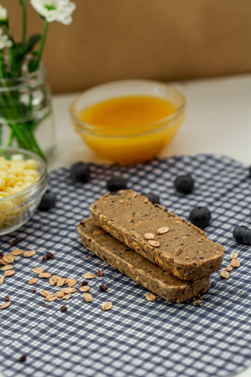Vegan Süßigkeitenersatz Blaubeere Butter Zubereitung