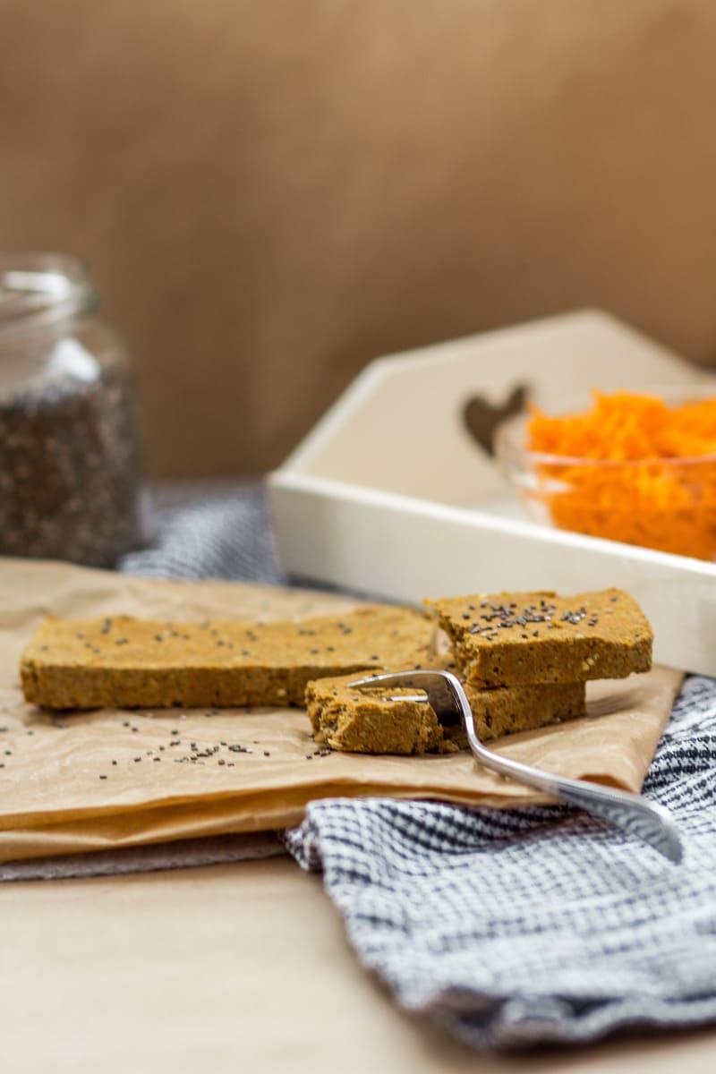 Vegan Diät Karotte Protein Zubereitung