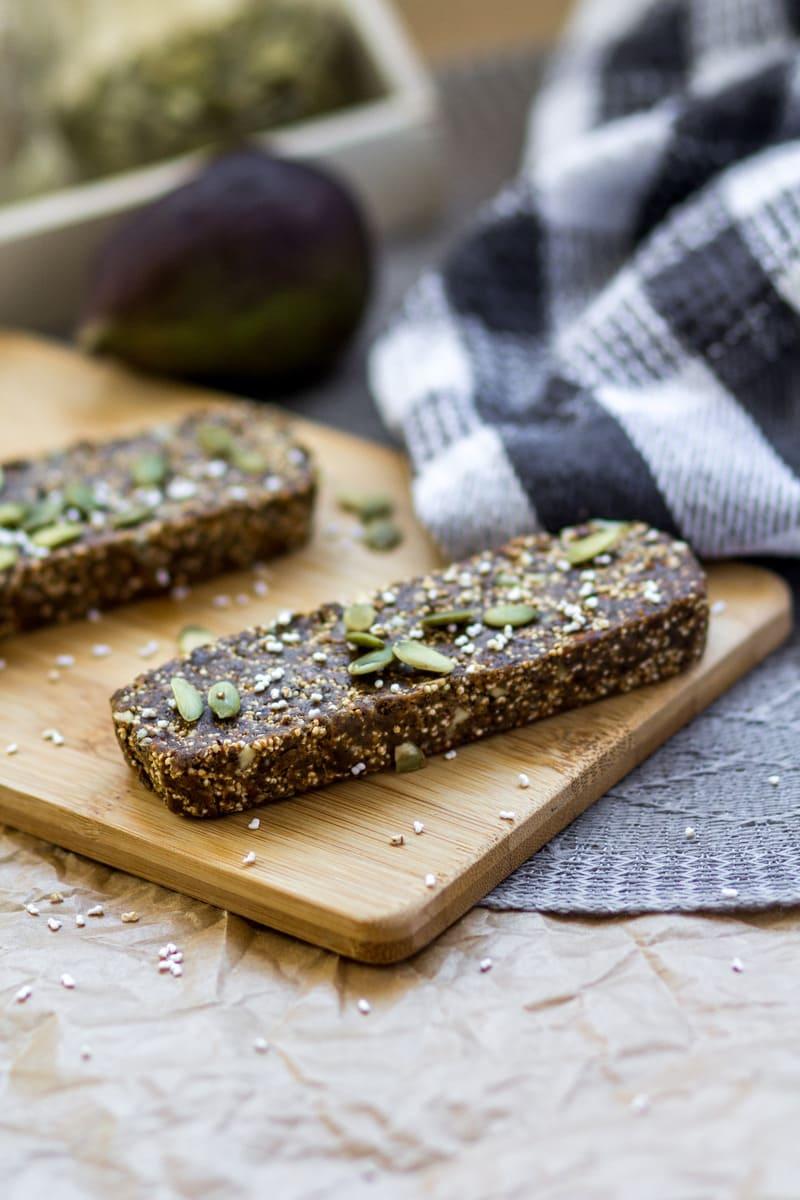 Vegan Superfood Feige Schoko Zubereitung