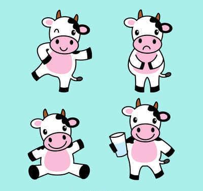 Grund vegan gegen Kuhleid