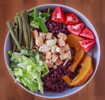vegan werden mit bowls