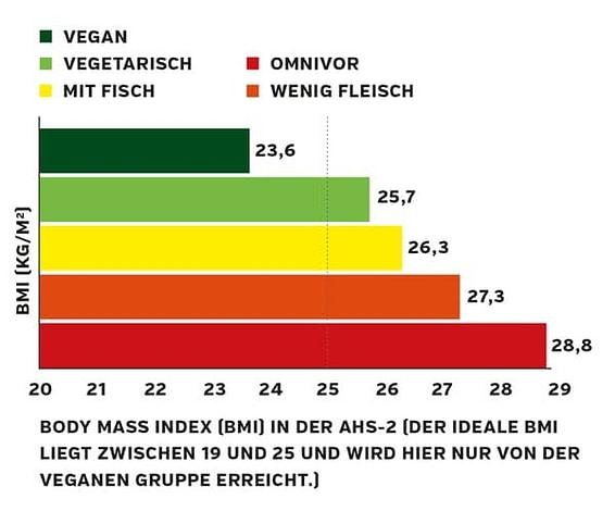 Veganer BMI